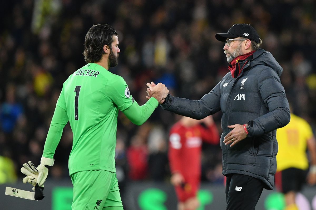 Alisson Becker, Champions League, Atletico Madrid, Jurgen Klopp,