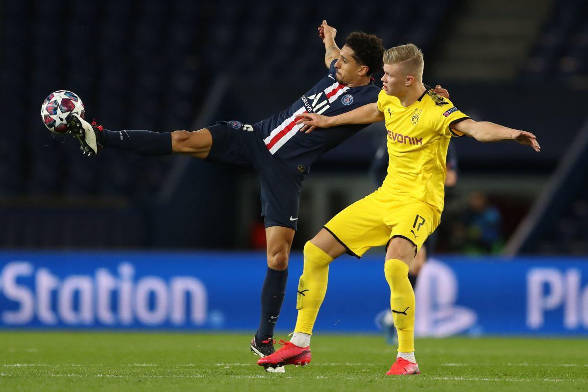 Neymar, PSG, Erling Haaland, Dortmund, Champions League,