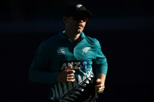WATCH | Lockie Ferguson loses it in the stands, goes ball-fishing at spectator-less SCG