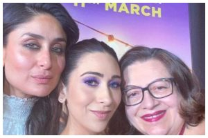 Kareena Kapoor Khan visits sets of 'Mentalhood', shares sweet message for sister Karisma