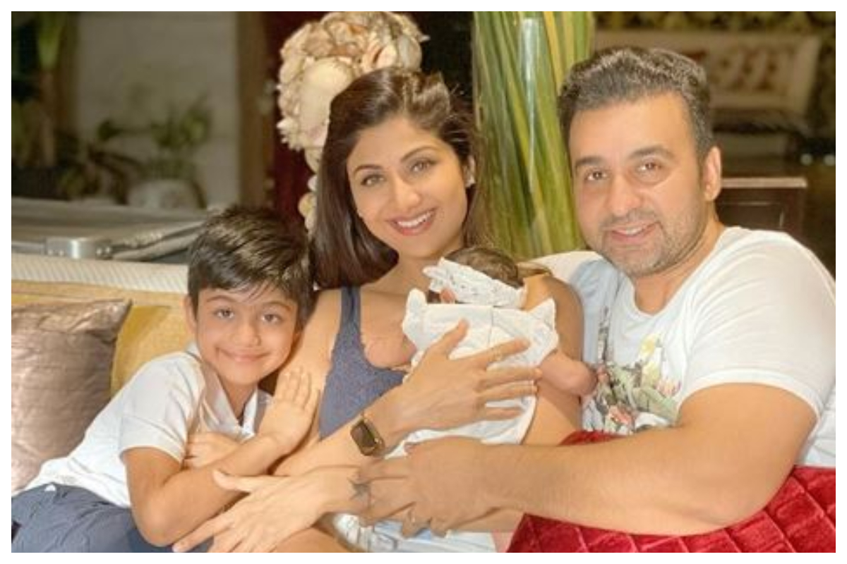 Shilpa Shetty Kundra shares family picture as daughter Samisha Shetty completes 40 days