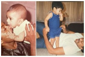 'RRR' actor Ram Charan turns 36; here are some never-seen-before pics of him
