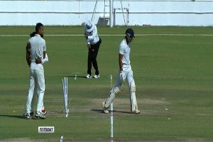 On-field umpire C Shamshuddin ruled out of Ranji Trophy final