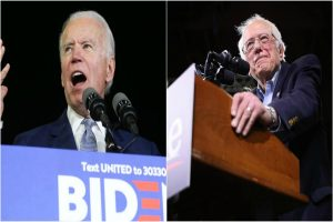Close race between Biden and Sanders as Super Tuesday results unveil