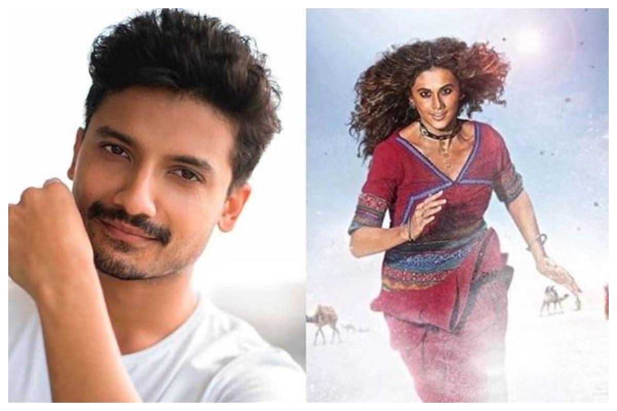 Priyanshu Painyuli, Rashmi Rocket, Taapsee Pannu.