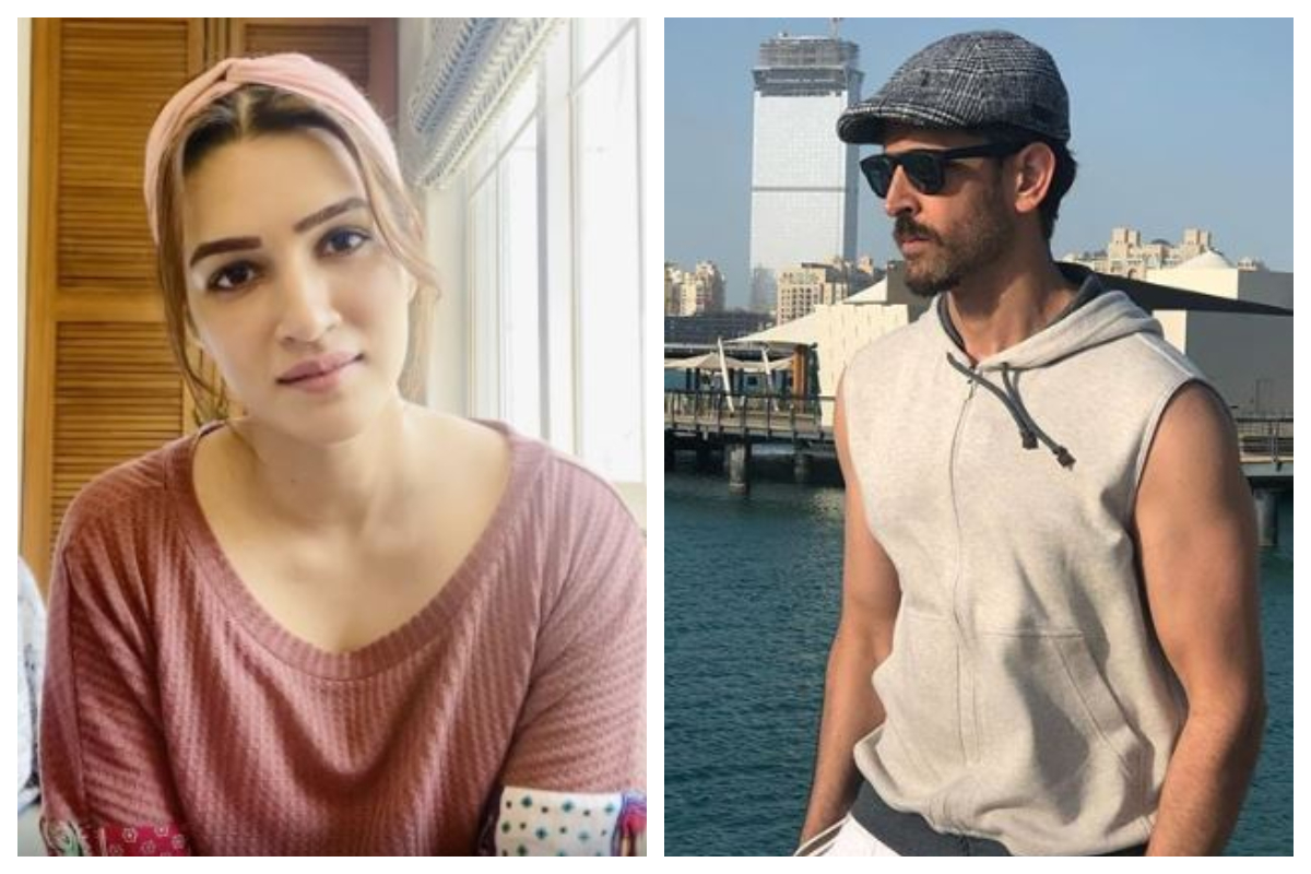 Mimi actress Kriti Sanon opens up on working with Hrithik Roshan