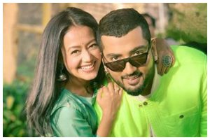 Neha Kakkar breaks down in video of her latest song