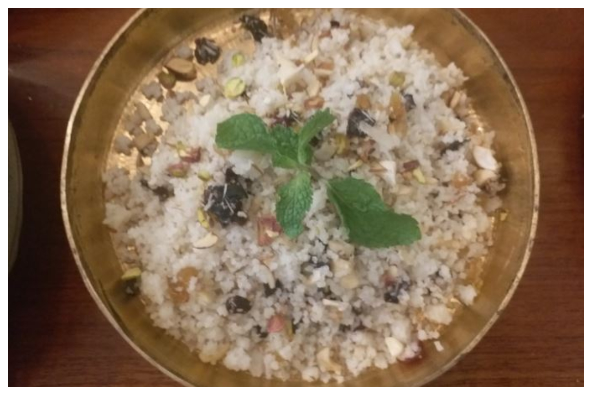 Vegetable Samak Pulao – A Healthy Fast Recipe