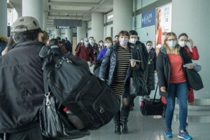Travel in the time of an epidemic