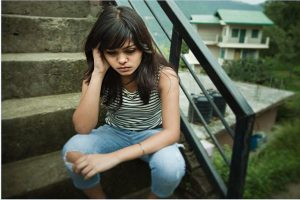 Kids who blame themselves for mom's sadness face depression