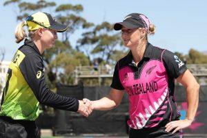 Women's T20 World Cup: New Zealand invite Australia to bat in virtual quarterfinal