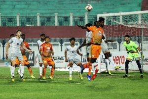 I-League: Adjah's late penalty rescues a point for Neroca FC