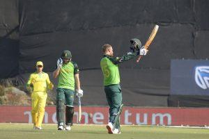 Heinrich Klaasen ton helps South Africa to big win over Australia
