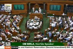 7 Congress MPs suspended for rest of LS session for 'unruly' behaviour