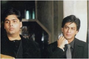 Karan Johar's take on Shah Rukh Khan's throwback picture will leave you in splits