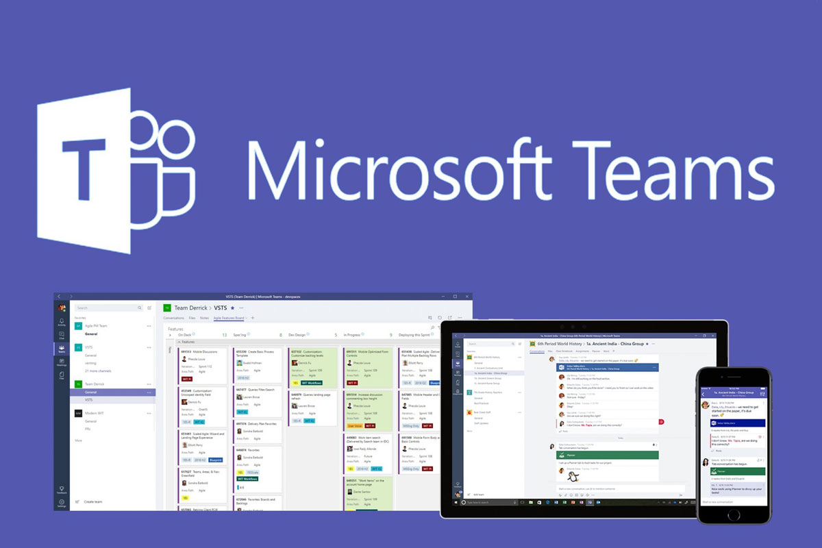 Microsoft Teams, Work from Home