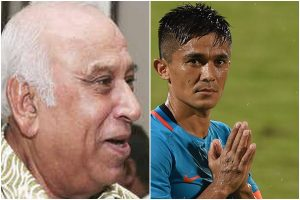 PK Banerjee's achievements will forever have a place in Indian footballing history: Sunil Chhetri