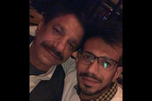Watch | Yuzvendra Chahal's first TikTok video with dad