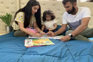 BCCI urges people to stay home like the Pujara family