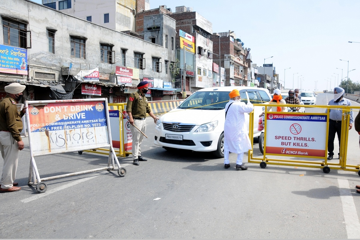 COVID-19: Punjab under state-wide curfew