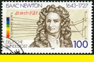 Newton and social distancing