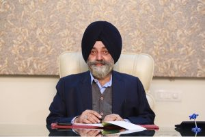 Rajwant Singh Vohra has a vision to spread Sikh religious and cultural values into the society