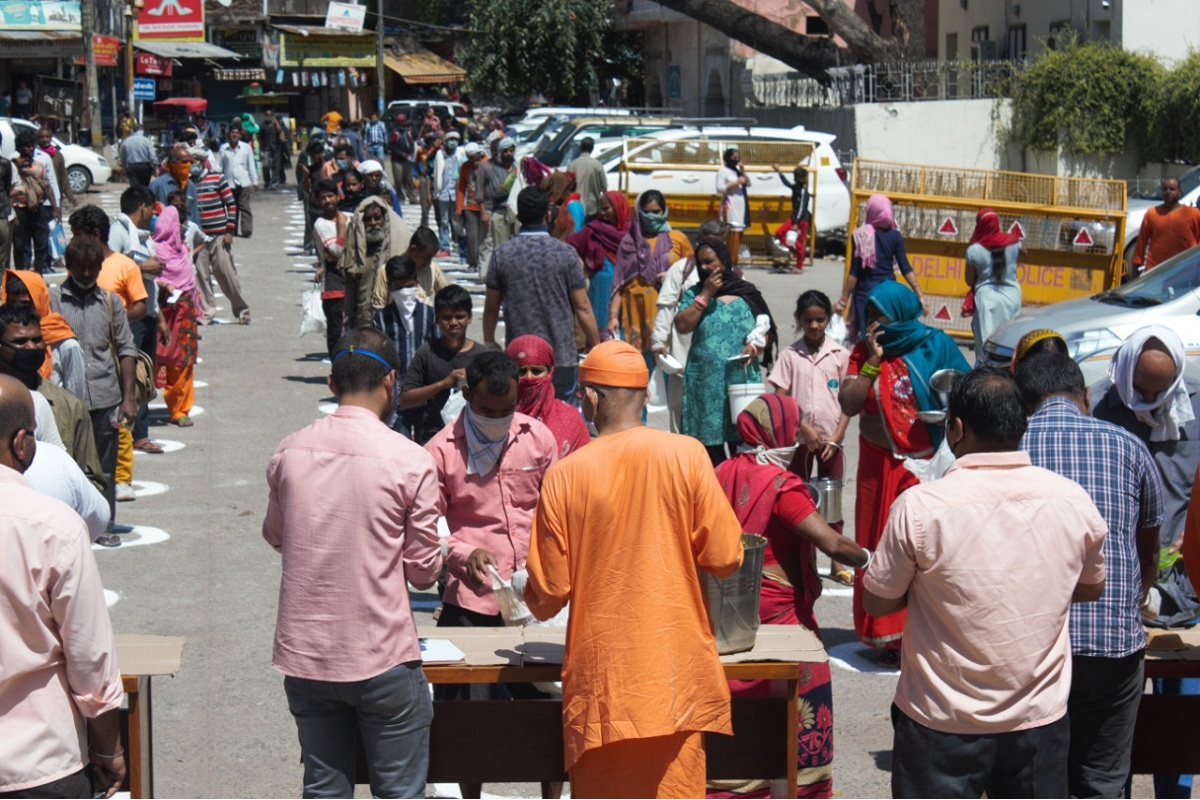 Ramakrishna Mission New Delhi starts relief work for those hit by outbreak of Coronavirus; COVID-19