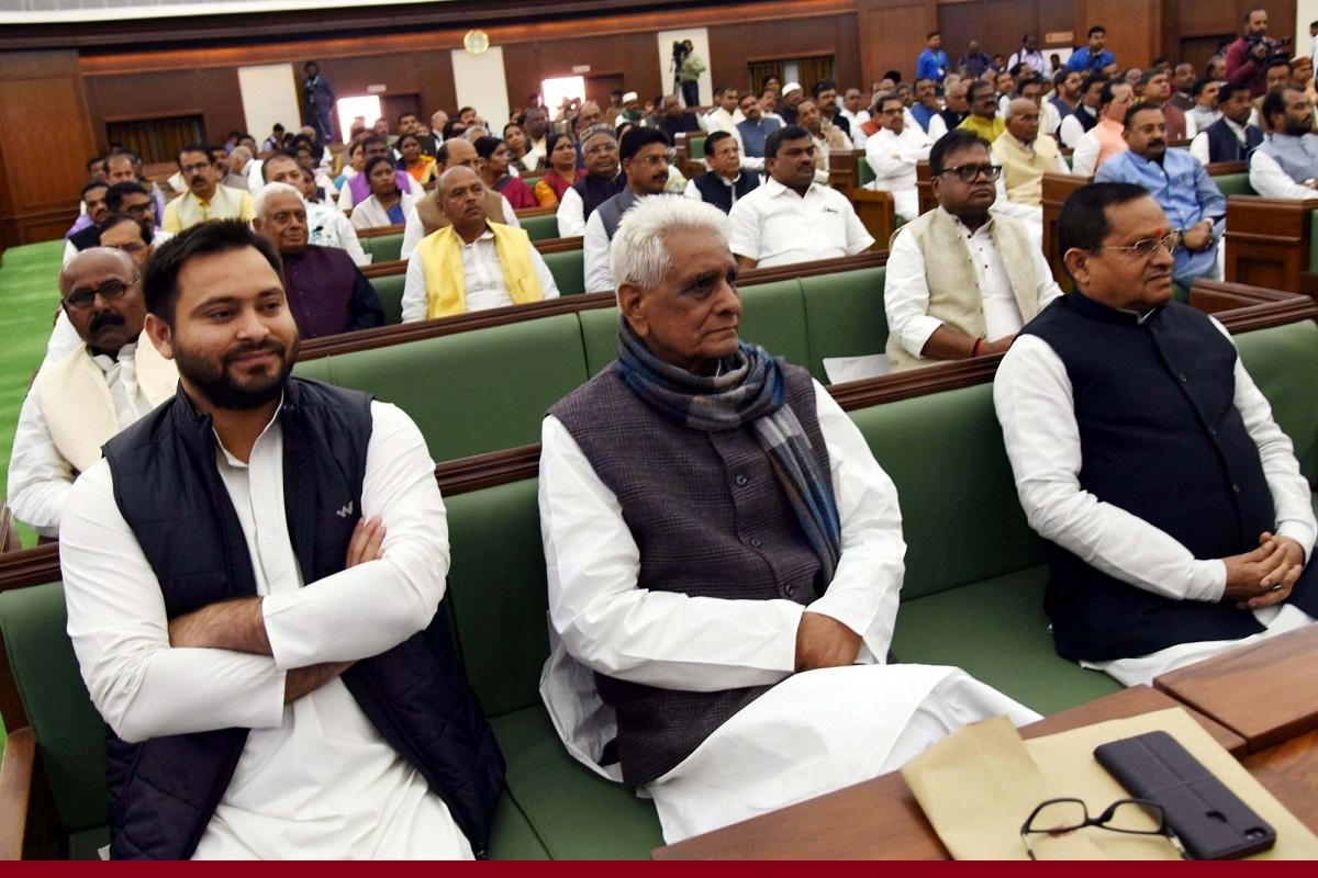 Scindia, Patna, Congress, Jyotirditya Scindia, Rajya Sabha, Bihar, RJD, Lalu Prasad, NDA, BJP, Tejashwi Yadav, Madhya Pradesh, Rabri Devi, JDU