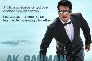 AK Rahman has given anchoring a new dimension