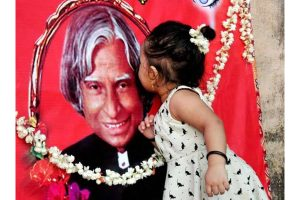 Ink smear on Kalam's demy book: Library staff urge PM to take action