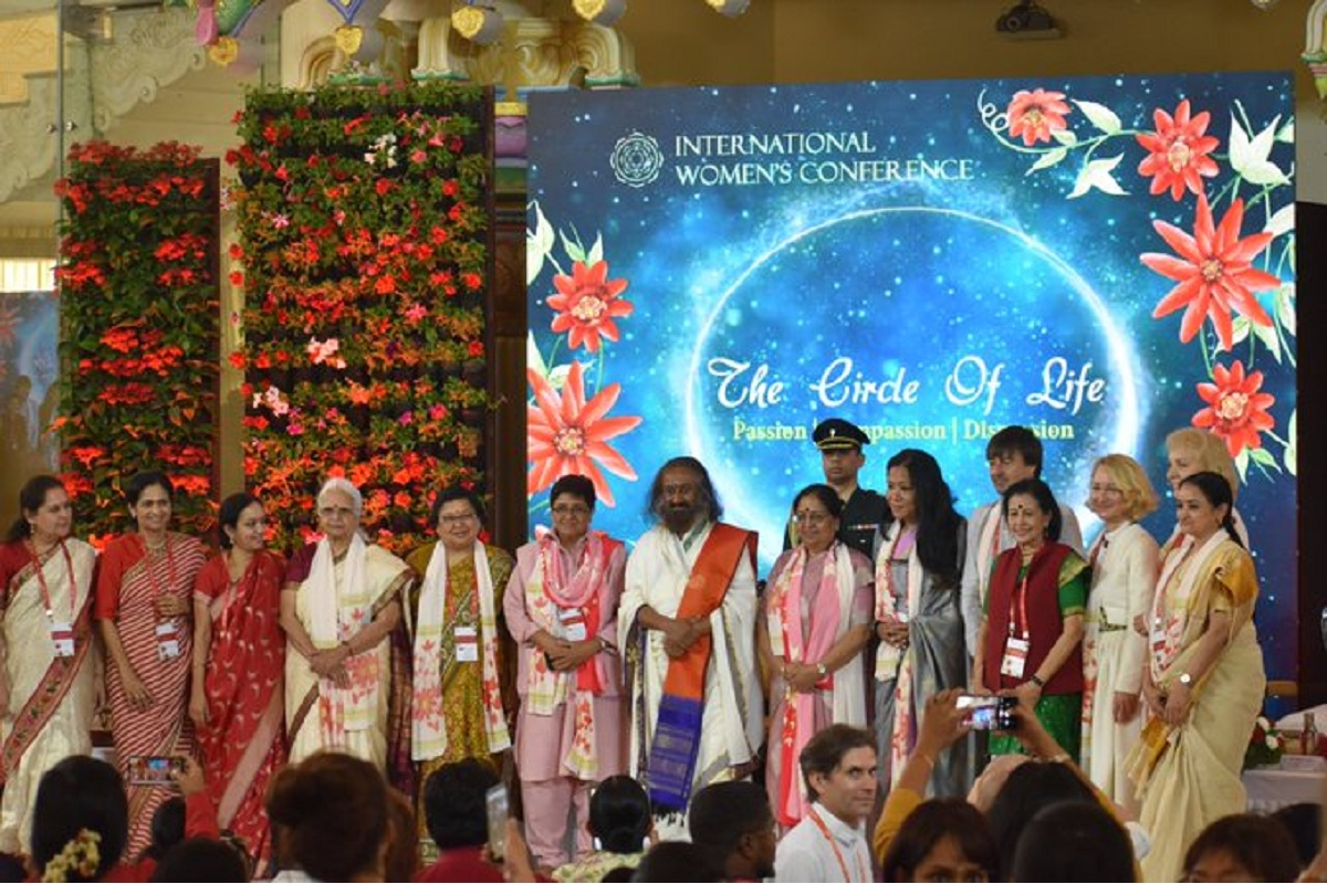 Woman, Sri Sri Ravi Shankar, Women's Day, Women