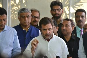 Rahul Gandhi says lockdown may extend, adds India's condition unique, needs different steps