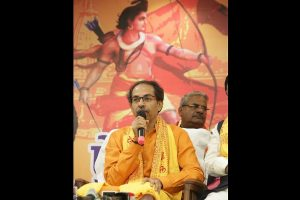 Shiv Sena slams BJP for criticising Uddhav Thackeray over Ayodhya visit