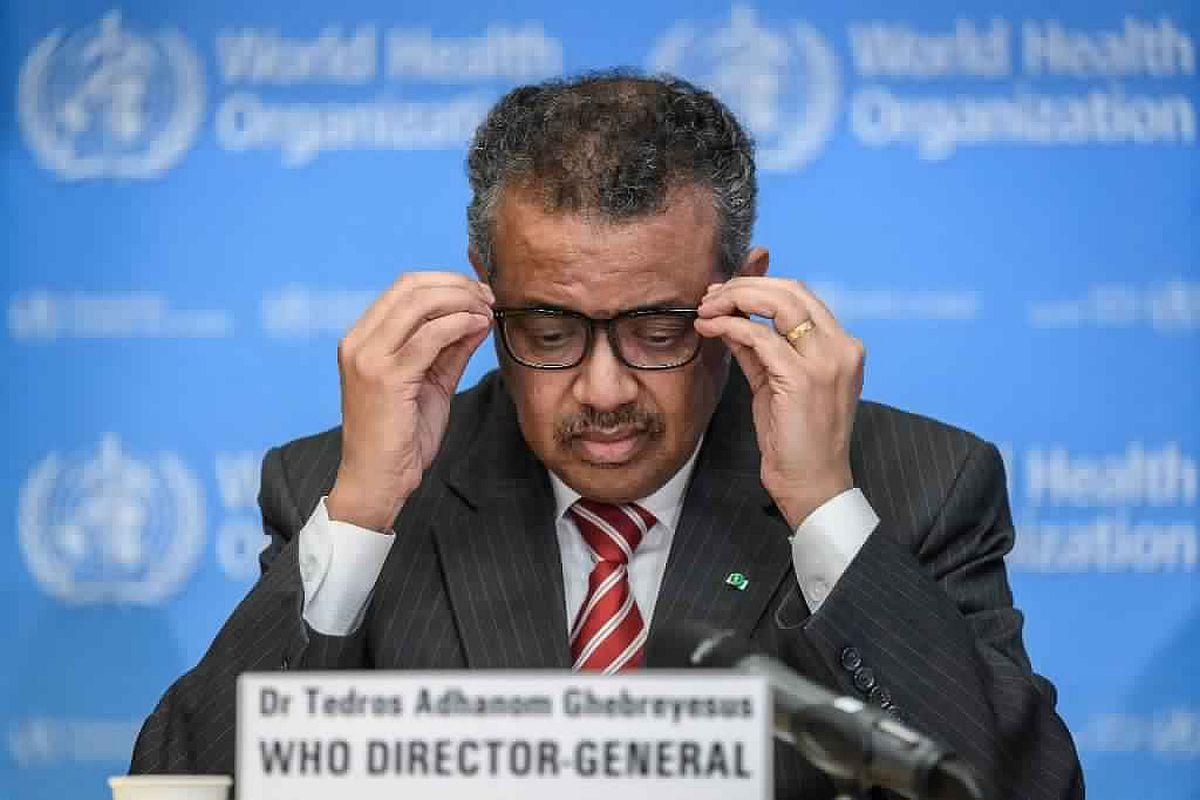 Who's to blame, World Health Organization, Tedros Adhanom Ghebreysus, China