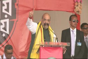 Shah accuses Mamata of triggering riots