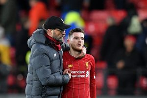 Andy Robertson apologises after Liverpool's shocking defeat against Watford