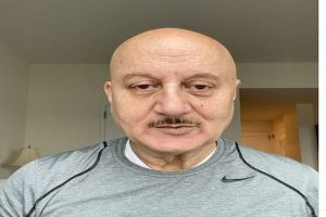 Anupam Kher self-quarantines on returning from New York