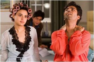 Kabhi Alvida Na Kehna: Preity Zinta shares BTS pic with Shah Rukh Khan and Karan Johar