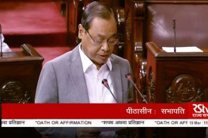 Ex-CJI Ranjan Gogoi takes oath as Rajya Sabha MP; Oppn walks out shouting 'shame' chants
