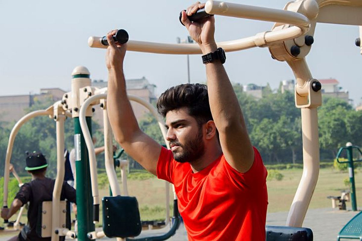 Missing the gym? Hit neighbourhood park, workout at home