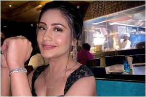 'Tough times never last', says Surbhi Chandna as she poses #inthetimesofcoronavirus