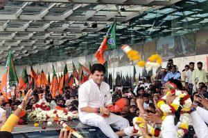 Jyotiraditya Scindia omitted pending cases detail in Rajya Sabha papers, alleges Congress