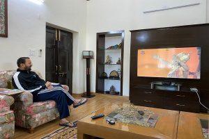 Ramayan re-telecast: I&B Minister Prakash Javadekar watches epic mythological series amid lockdown