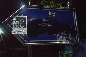 'Muhammad Ali Jinnah Marg' poster appears on 'VD Savarkar Marg' signage board in JNU campus