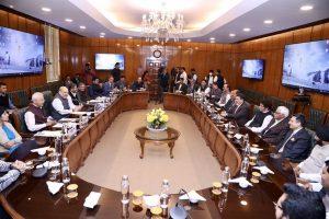 Altaf Bukhari's JK Apni Party delegation meets Home Minister Amit Shah