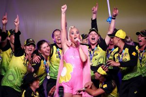WATCH | Australia players celebrate Women's T20 World Cup win with Katy Perry