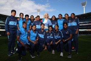 Women's T20 World Cup: Ahead of final, Katy Perry meets Harmanpreet Kaur & Co.