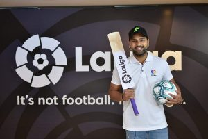 Finally some good news in a year that's severely lacking any: Real Madrid fan Rohit Sharma