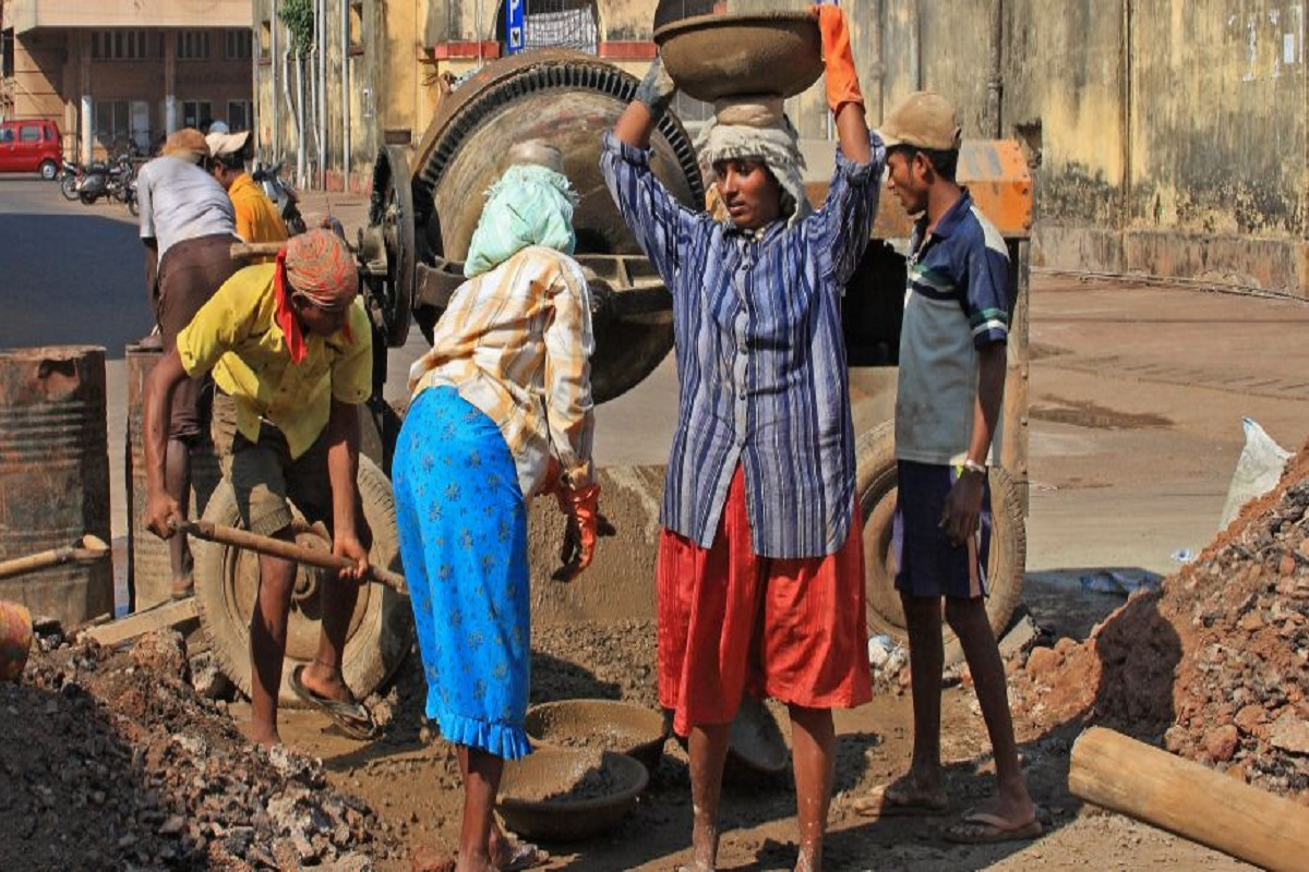 UP labourers
