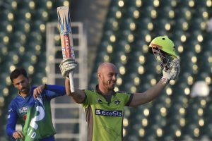 Lynnsanity Ends   Chris Lynn smashes 55-ball 113 before returning home due to COVID-19 outbreak